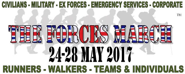 The Forces March in aid of The Veterans Charity