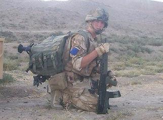 James Tattingham in The Parachute Regiment
