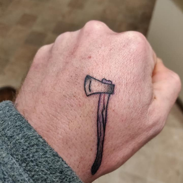 An axe for 'The Mad Gardener'