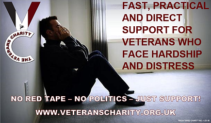The Veterans Charity - The Rapid Reaction Force of Military Charities