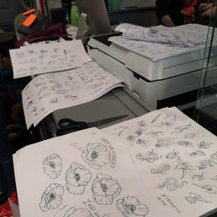 More than 130 designs...