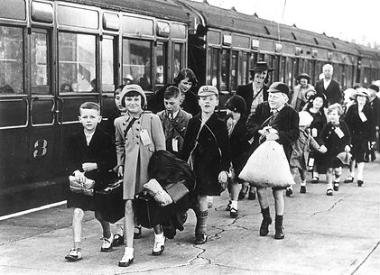 EVACUEES Southend Central Station Sept 1