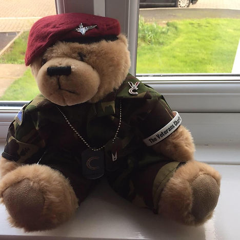 FRED BEAR | United Kingdom | The Veterans Charity