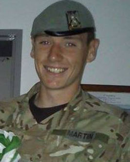 Danny Martin served for 6 yrs with Royal Scots Dragoon Guards