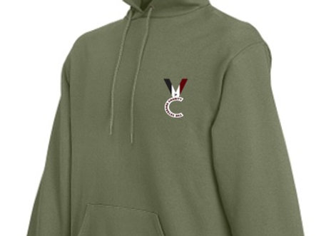 The VC Hoodie - Olive Green