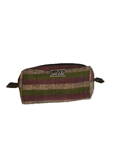Green & Purple Travel Bag