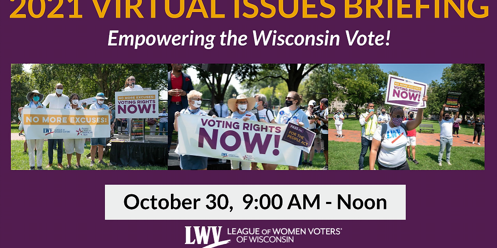 LWVWI Virtual Issues Briefing