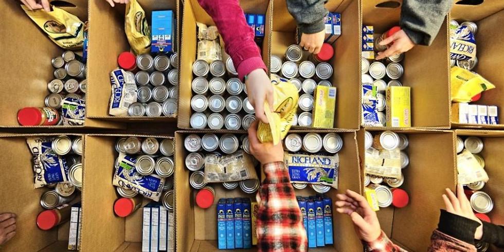 Volunteer at Greater Things Food Pantry