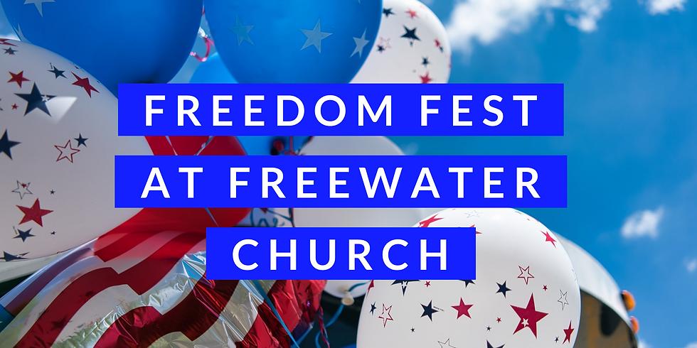 Freedom Fest VOLUNTEER SIGN UP