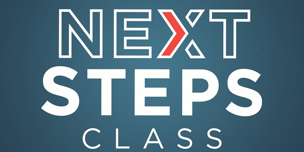 Next Steps Discipleship Class Begins