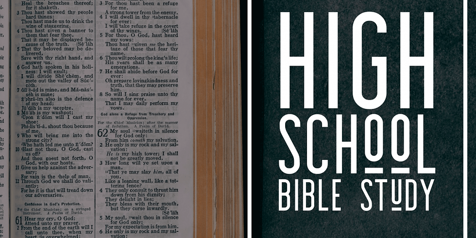 FSM High School Bible Study