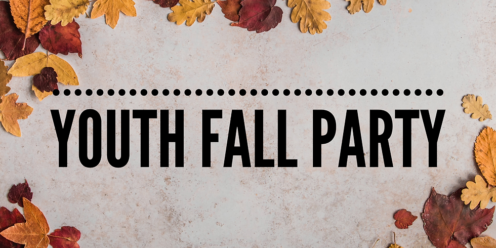 FSM Fall Party for Middle & High Schoolers