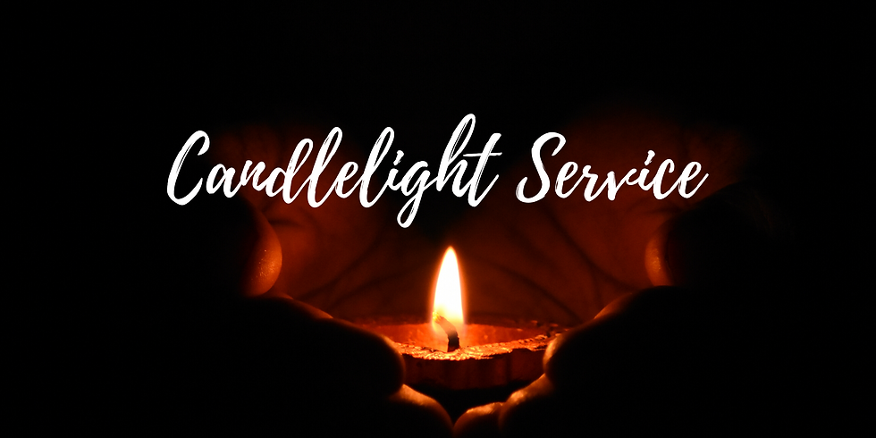 Candlelight, Coffee, and Candy Canes Service 8AM