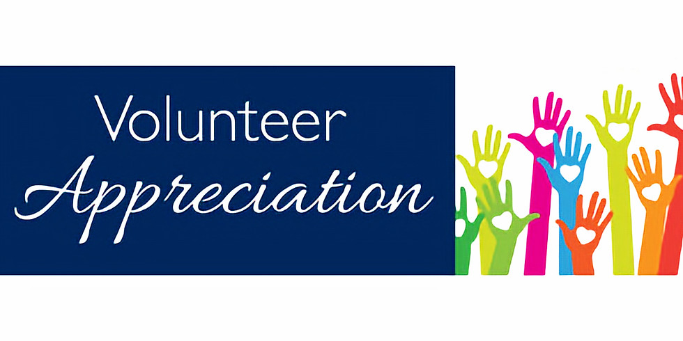 Volunteer Appreciation Sunday