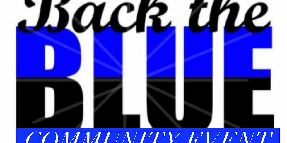 Back the Blue Community Event