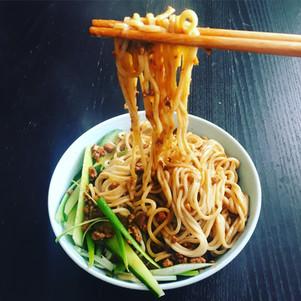 Vegan Zha Jiang Mian