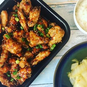 Dakgangjeong (Korean Fried Chicken)