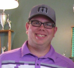 Man with Purple Shirt