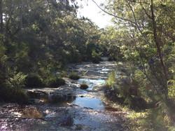 Creeks and streams along the way