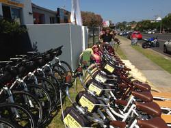 Plenty of bikes for everyone