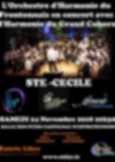 Affiche Concert de Ste Cecile avec Cahor