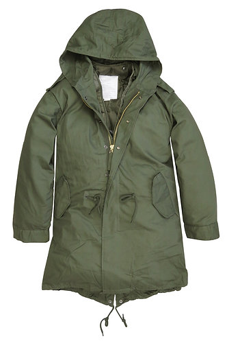 The157store | Home | UK Retro Clothing | M51 Fishtail Parka - Khaki