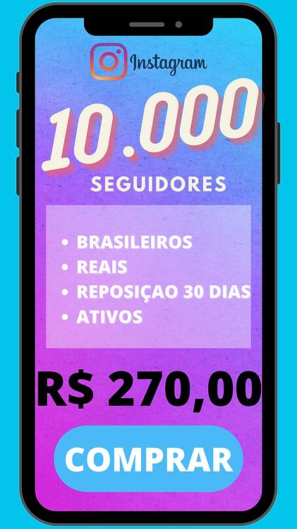 10.000 SEGUIDORES BRASILEIRO