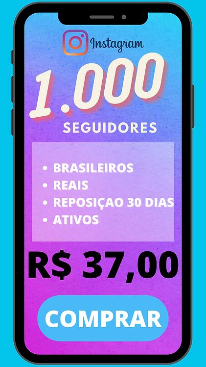 1.000 SEGUIDORES BRASILEIRO