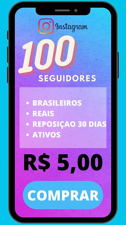 100 SEGUIDORES BRASILEIRO