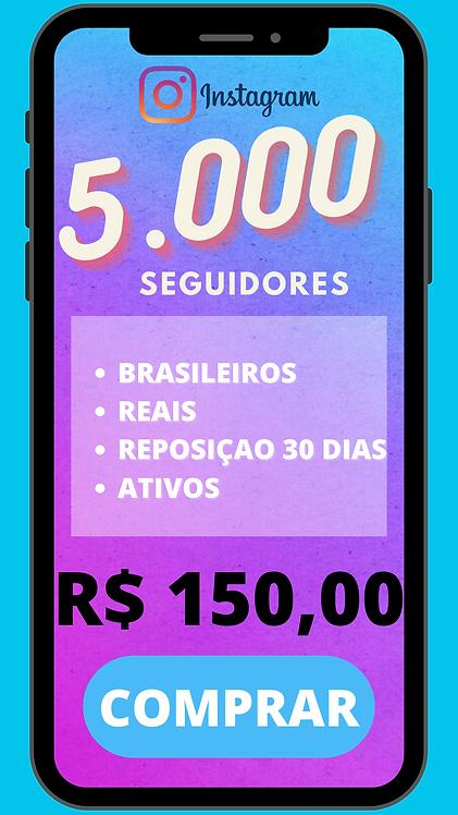 5000 SEGUIDORES BRASILEIRO