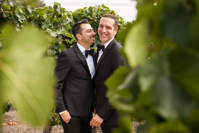 David & Miguel at Gloria Ferrer Winery