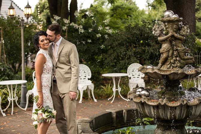Meera and Nick's magical wedding