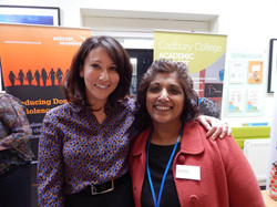 Linda with Suzanne Virdee