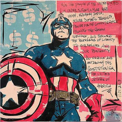 CONSTITUTION CAPT' AMERICA