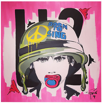 BORN TO SING U2