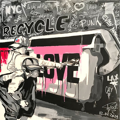 RECYCLE NORMAN ROCKWELL