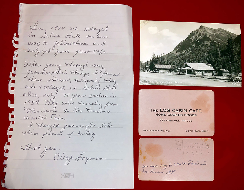 The original LCC Postcard and Business Card