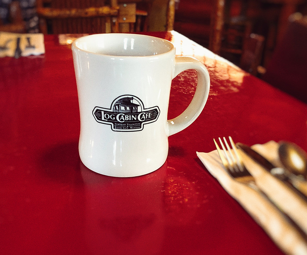 2018 Log Cabin Cafe Mug