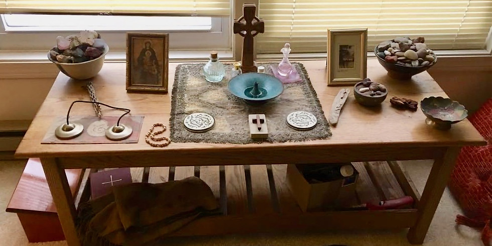 Creating Your Own Sacred Space - Morning Session