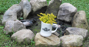 New Log Cabin Cafe Mug Photo by Doug Dingman