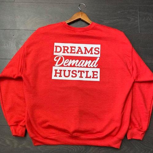 Dreams & Hustle Sweater (RED)