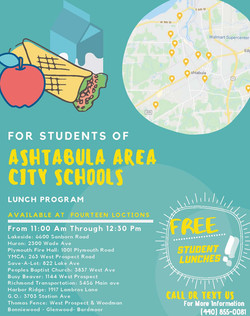School Lunch Distribution Sites