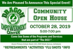 DEC Community Open House