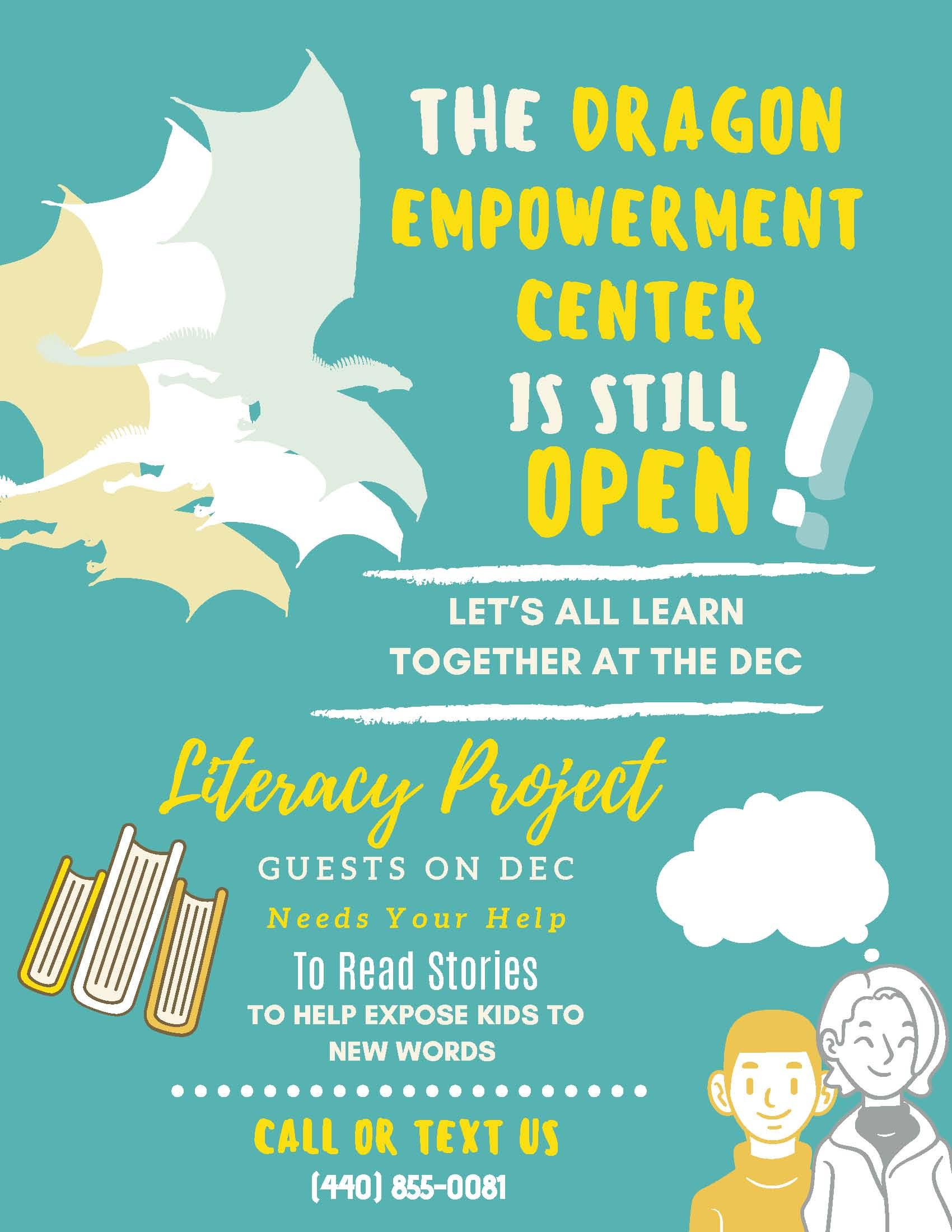 Dragon Empowerment Center Still Open