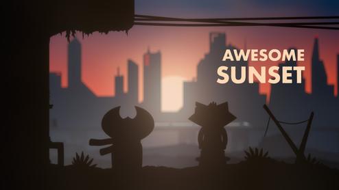 Awesome Sunset   Animation (2020)