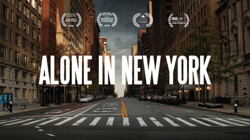 Alone in New York   Short Film (2018)