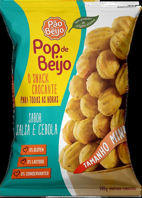 Pop de Beijo sabor salsa e cebola (DISPONÍVEL APENAS PARA SÃO PAULO CAPITAL)