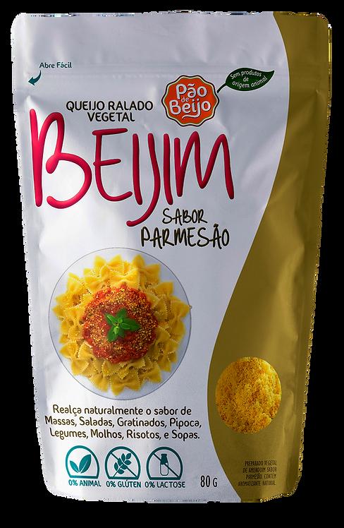 Queijo ralado vegetal Beijim  sabor parmesão - 80g