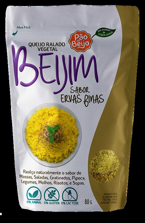 Queijo ralado vegetal Beijim sabor ervas finas - 80g