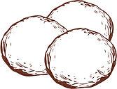 pão de queijo sem gluten, sem lactose, sem conservantes. Vegano. Natural.